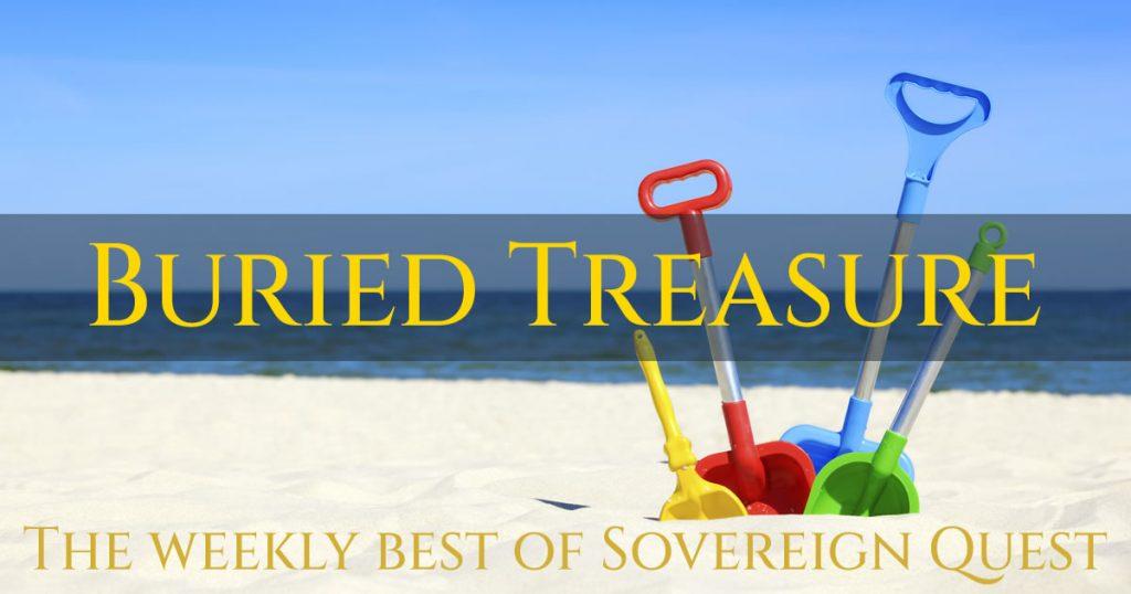 Buried Treasure. Image credit: Scanpix.